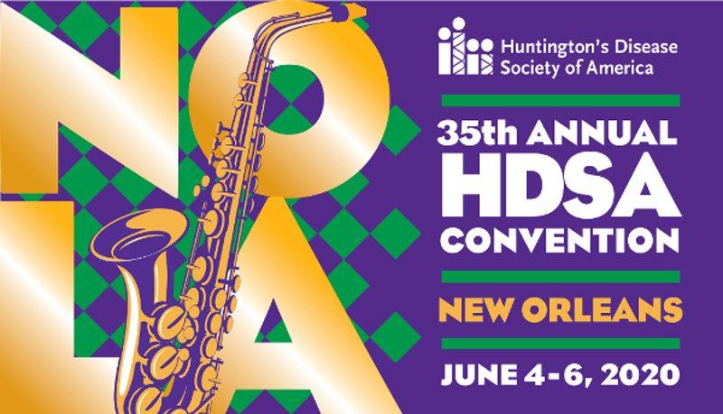 Huntington's Disease Society of America - Jun 2020